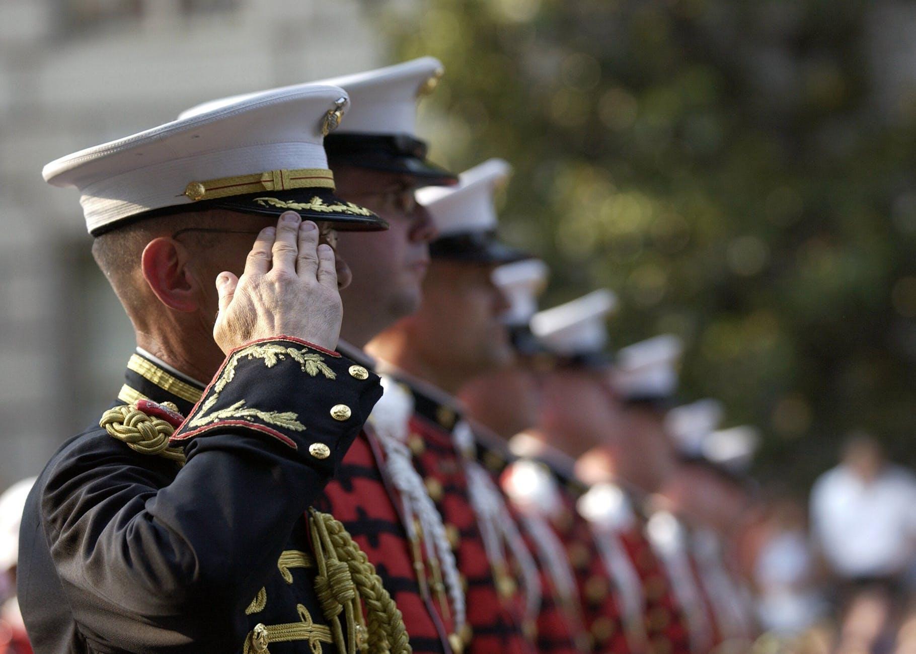 people usa military patriotism