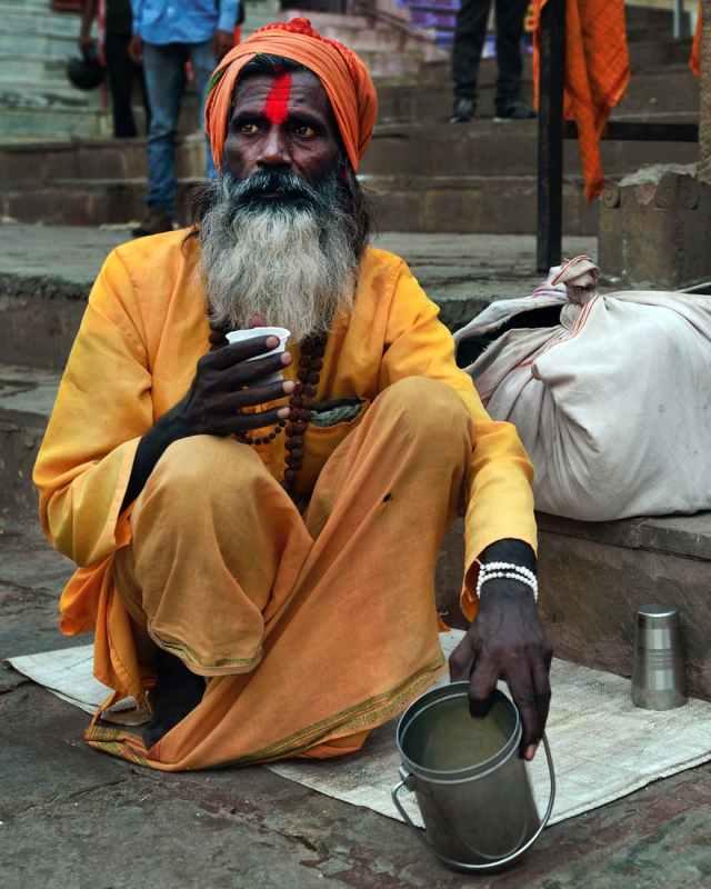 sadhu at nepal