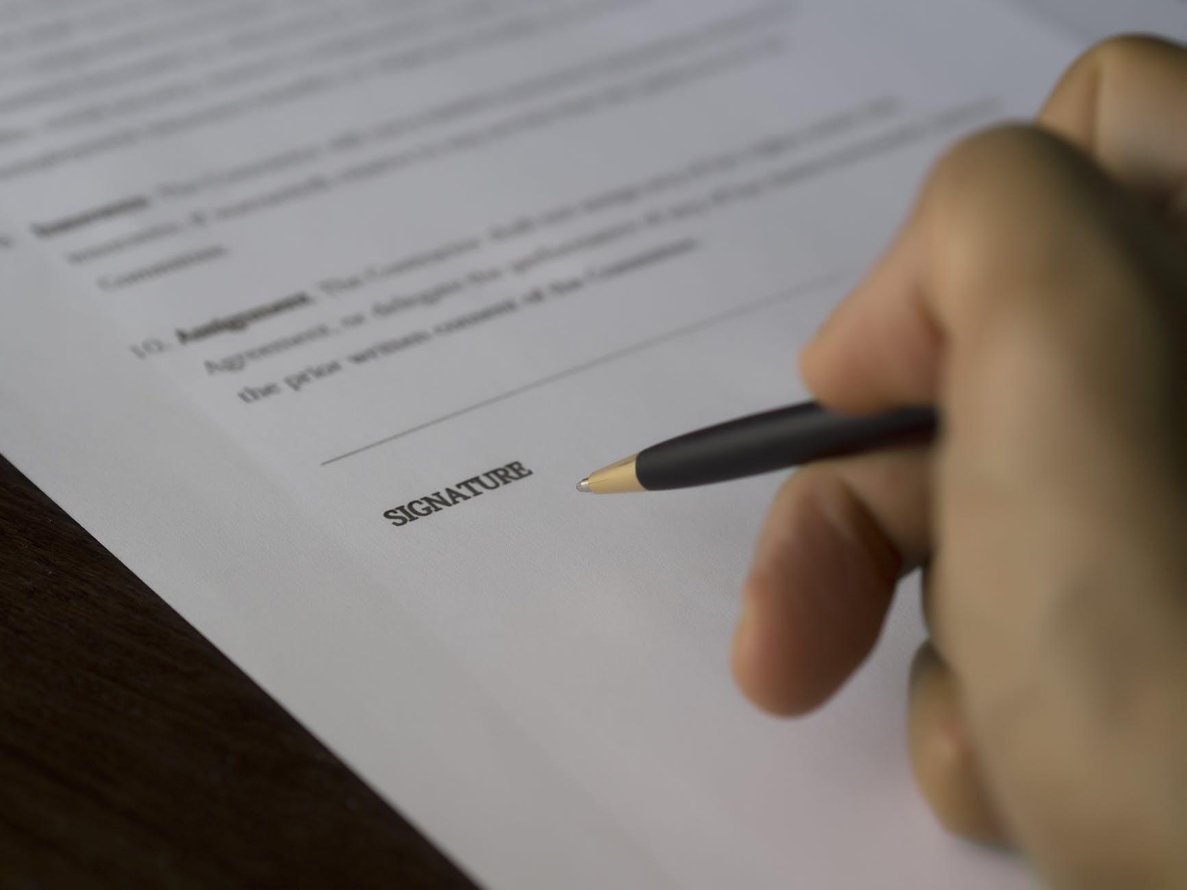 agreement balance blur business