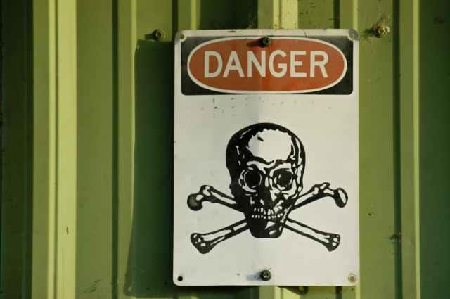 danger signboard