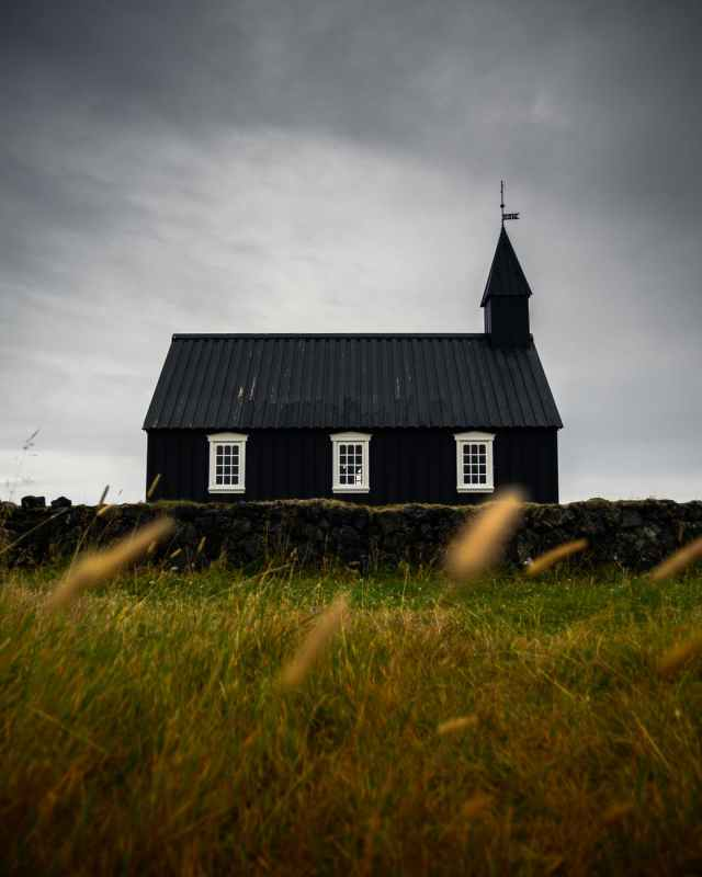 photo of black chapel